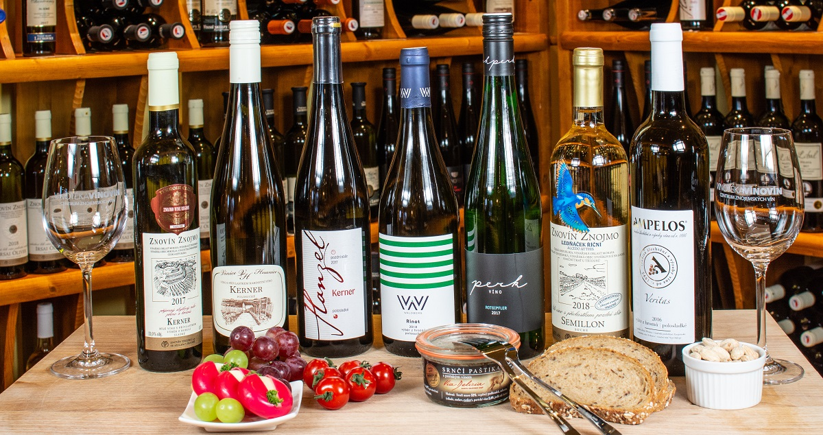Víno Kerner odrůda kořenitá s příjemnou kyselinkou