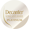 Víno získalo PLATINOVOU medaili na výstavě Decanter