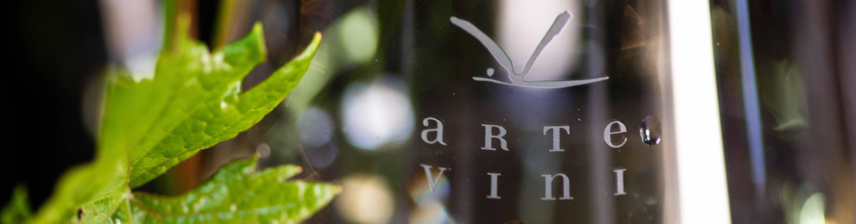 ARTE VINI - logo na skleničce