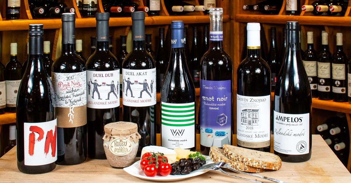 Rulandské modré je víno cihlové barvy