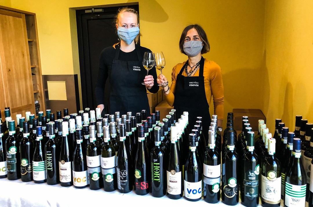 Vína VOC Znojmo ročník 2019 v prodeji