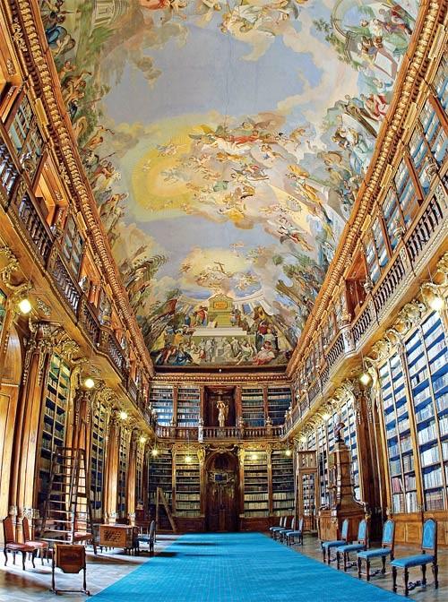 Lahofer knihovna na Strahově