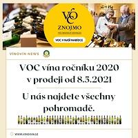 Vína VOC Znojmo 2020