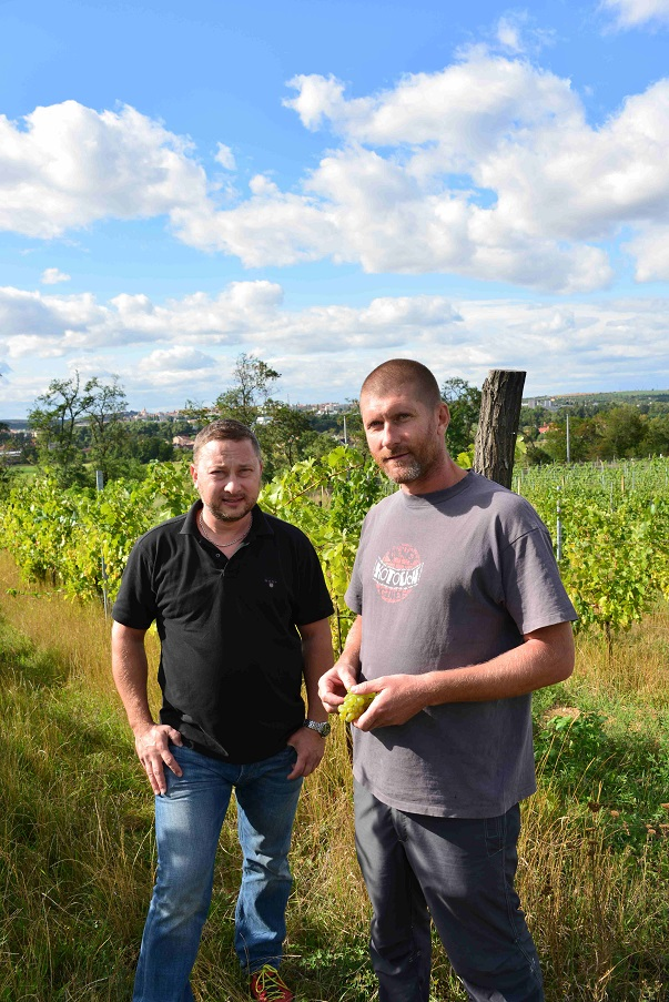 Pialek a Jager vinaři