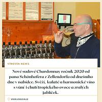 Sudové víno Chardonnay 2020 Schonhofer
