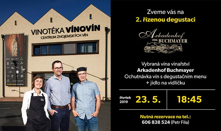 Vinotéka Vínovín - pozvánka na ochutnávku vín ve Znojmě