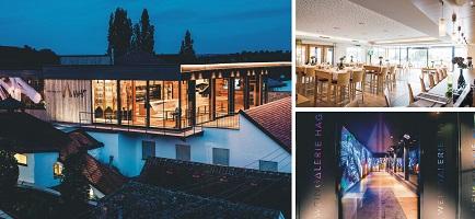 HAGN vinařství, to je moderní architektura a 100 let historie.
