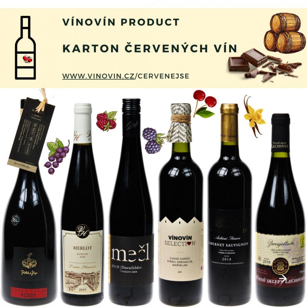 Vybraná červená vína