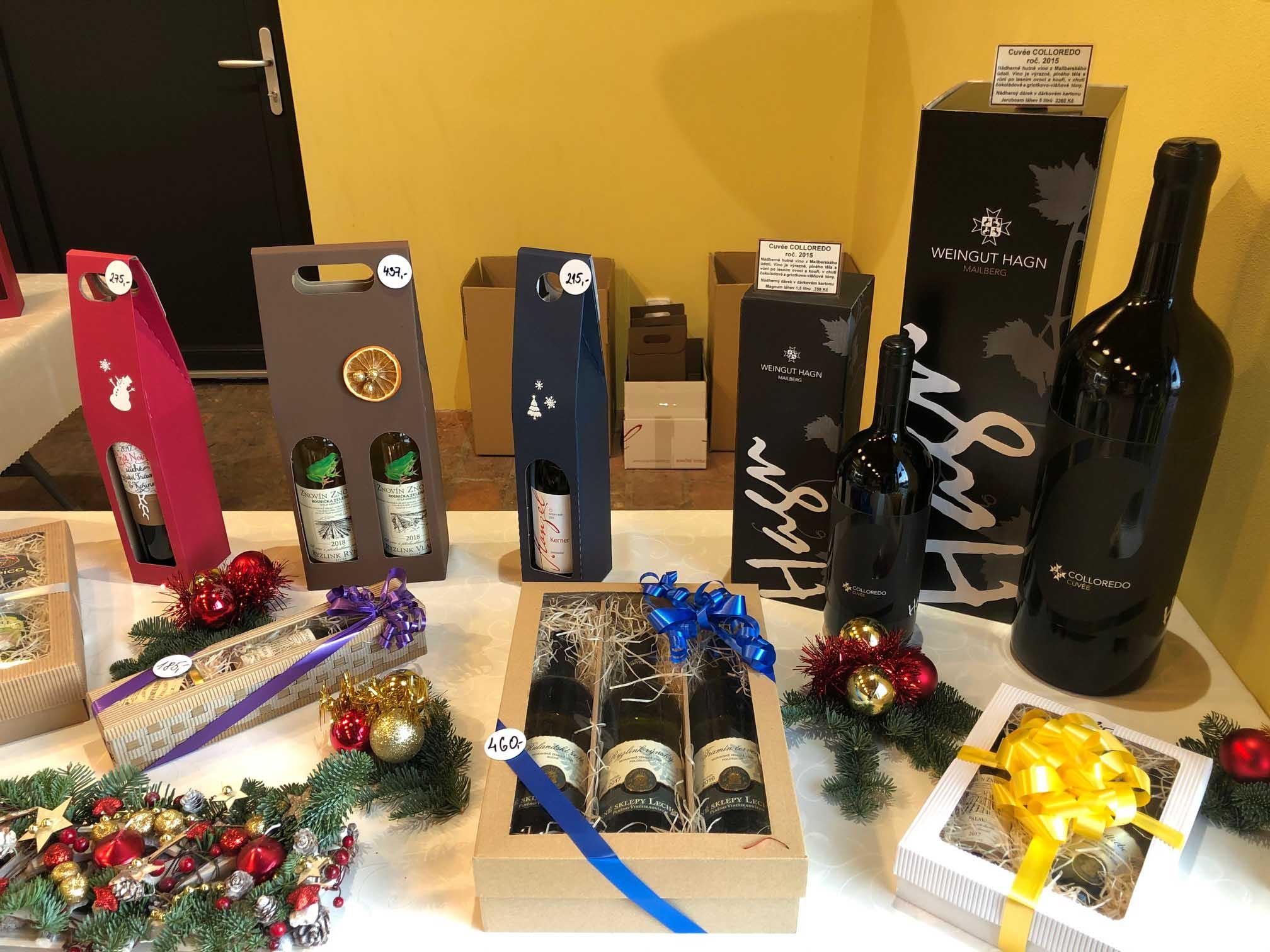 Dárkové balíčky - víno jako dárek