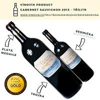 Červené víno 3 litry