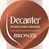 Víno získalo BRONZOVOU medaili na výstavě Decanter