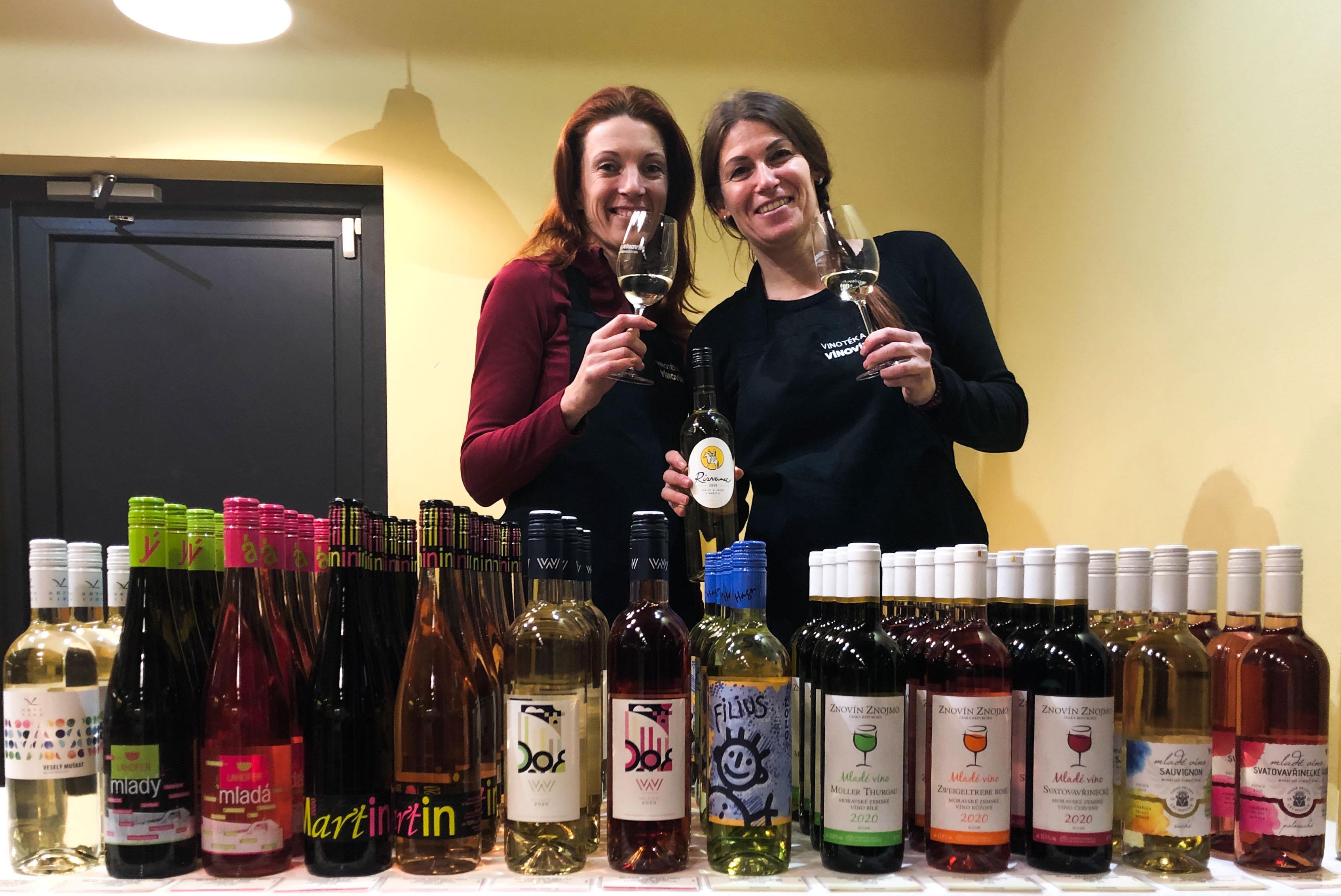 Mladá vína 2020