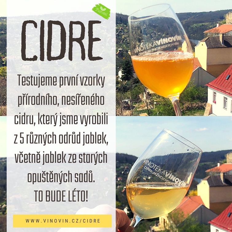 Cidre a cider prodej