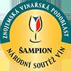 Víno má medaili ŠAMPION z Národní soutěže vín