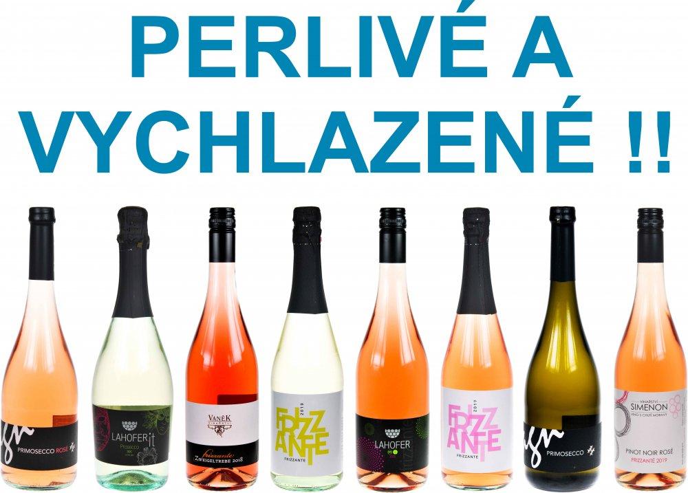 Perlivá vína Frizzanté Prosecco