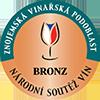 Víno má Bronzovou medaili z Národní soutěže vín