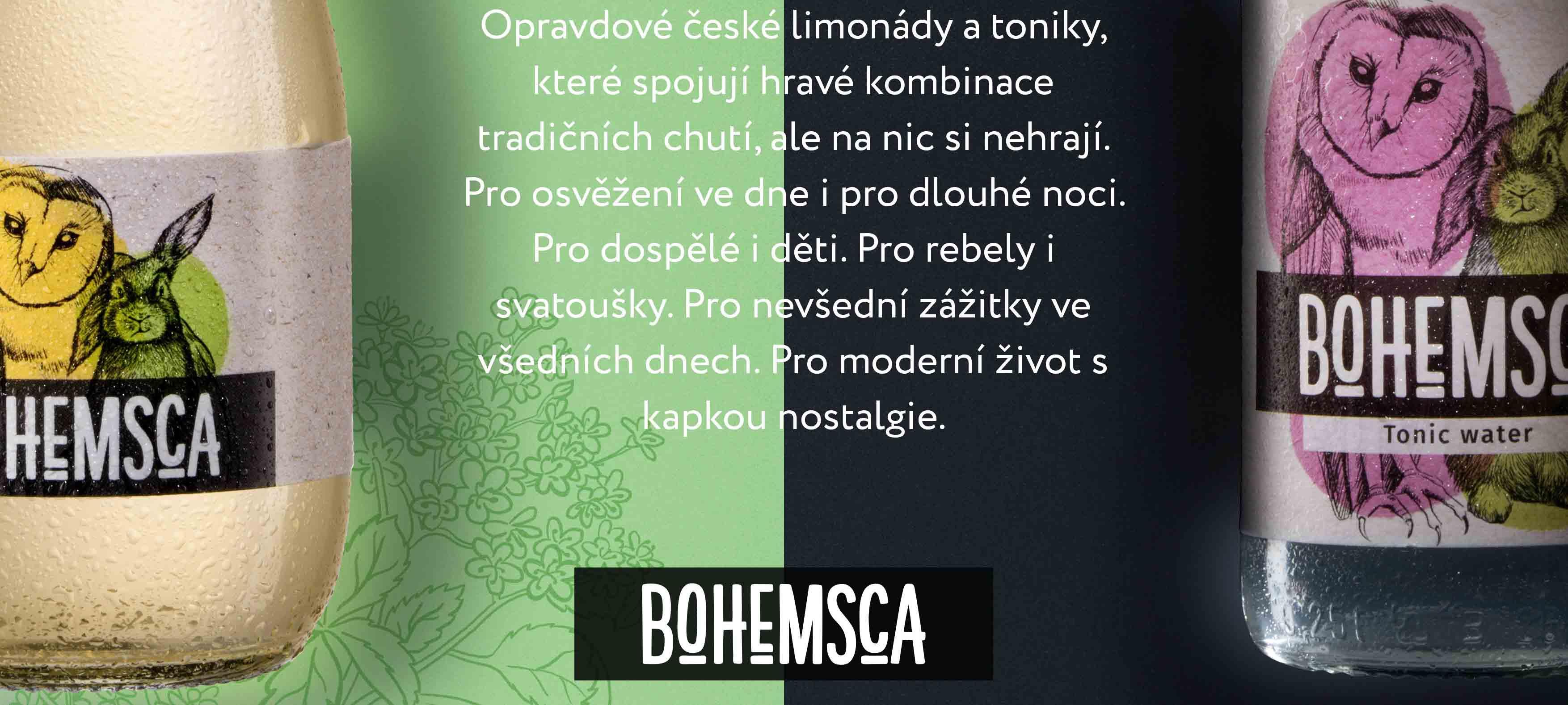 Bio limonády - poctivá česká limoška