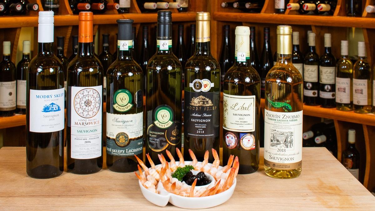 Víno Sauvignon - naše nabídka odrůdy vína Sauvignon