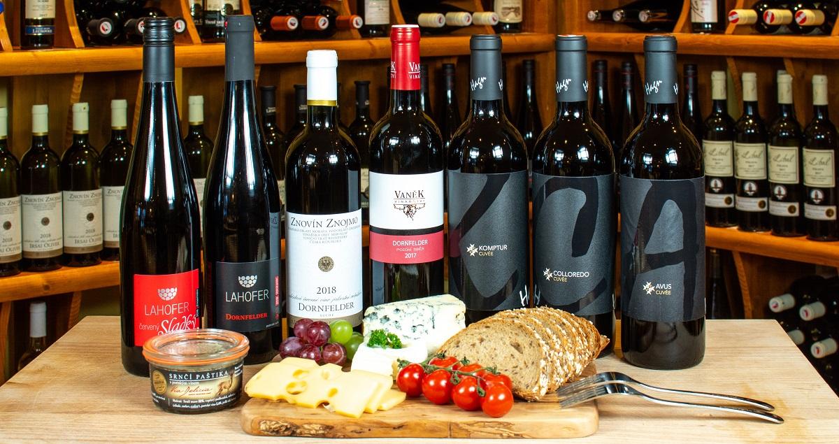 Dornfelder víno a jeho mnoho podob