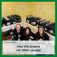 Vína VOC Znojmo ročník 2020