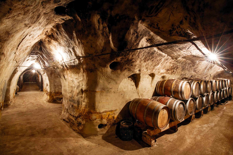 Vinařství Špalek - pískovcový sklep