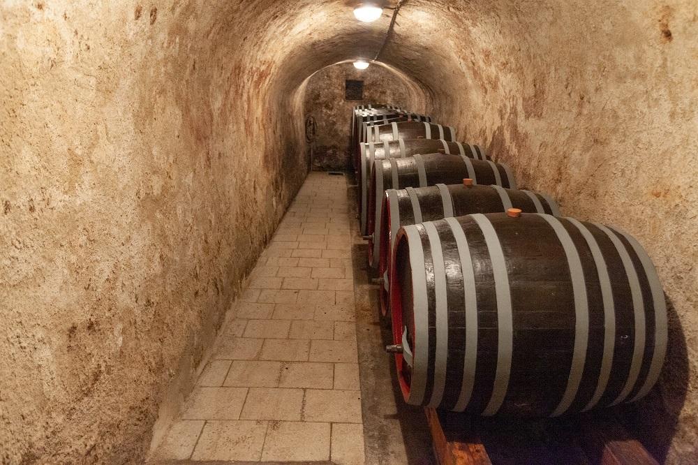 Vinařství Líbal kopaný sklep