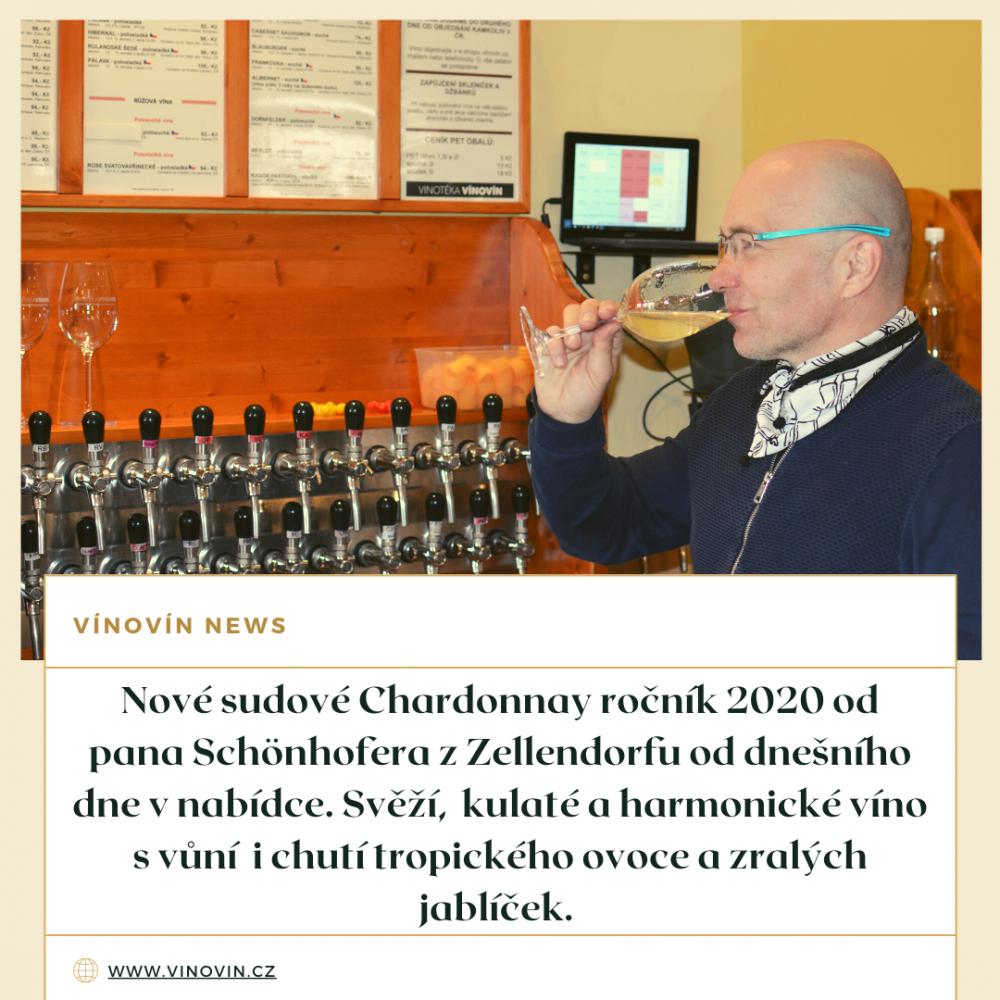 Chardonnay sudové víno