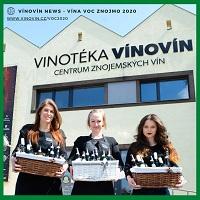 Vína VOC Znojmo v prodeji