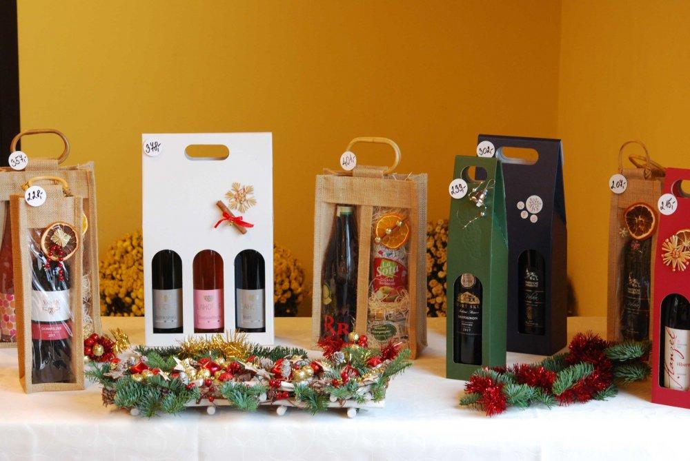 Prodej vína Vánoce 2018