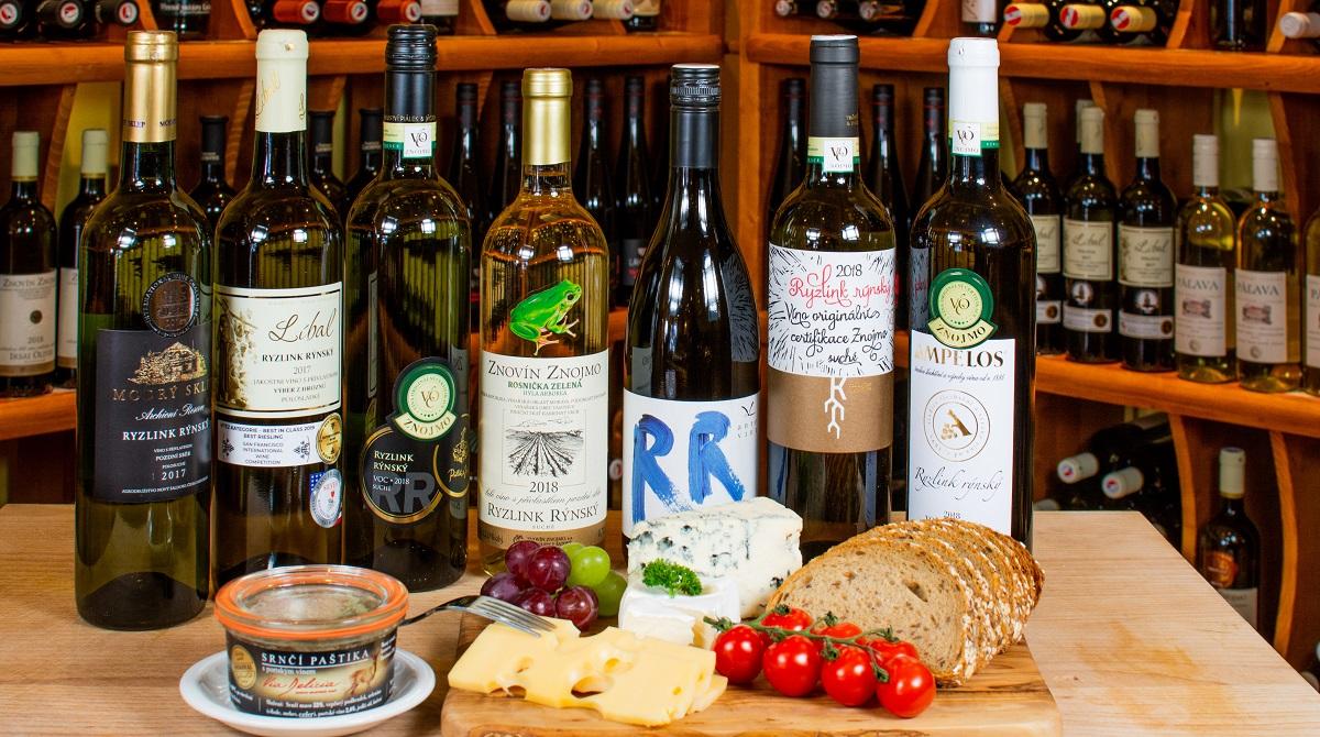 Ryzlink rýnský - naše nabídka odrůdy vína Ryzlink rýnský